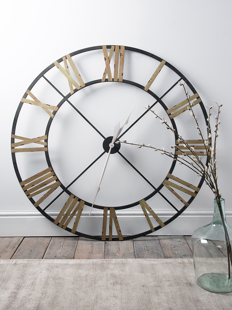With A Rustic Aged Metal Wrought Iron Frame Our Oversized And