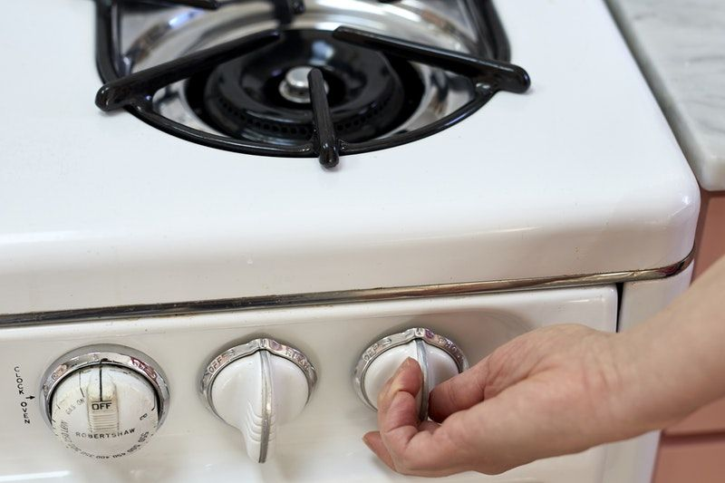 How to light a stovetop and oven pilot light stove top