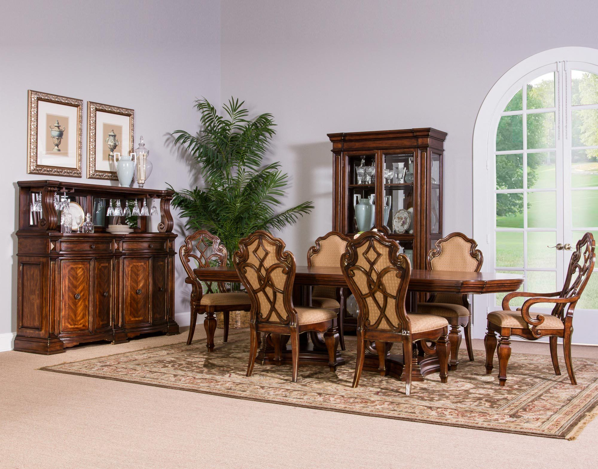 Devonshire Formal Cherry Dining Room Set Fairmont Designs