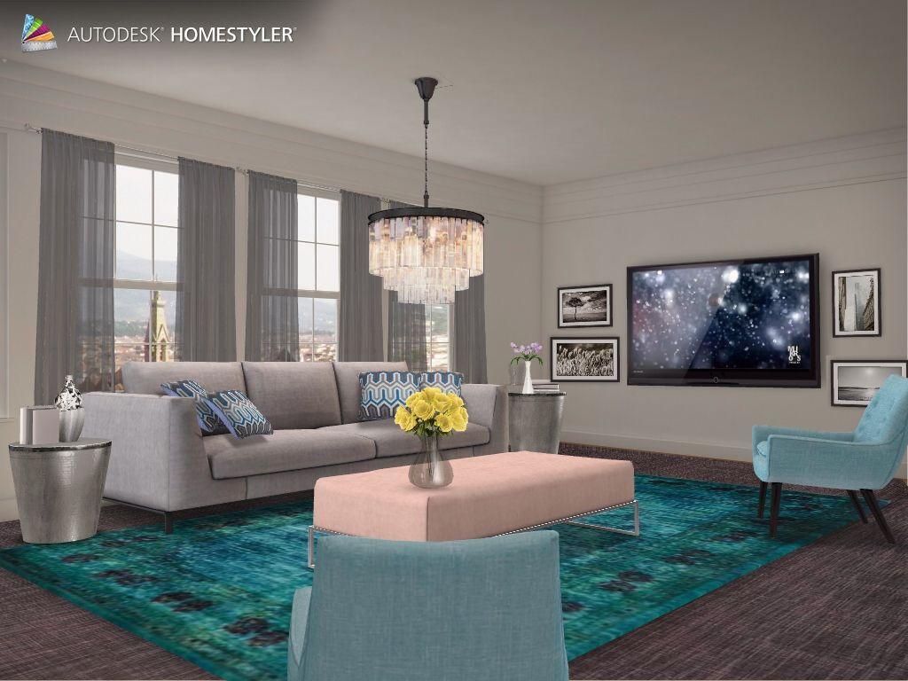 """Eche un vistazo a mi #diseño interior """"Livingroom"""" de #Homestyler http://autode.sk/1gGiziQ"""