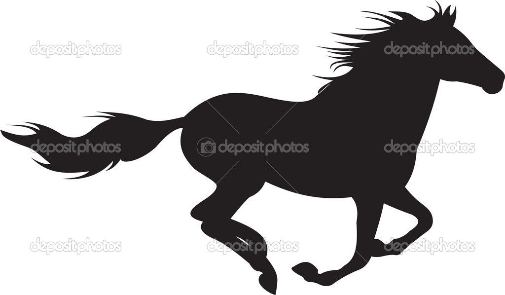 29+ Horse running outline clipart ideas in 2021