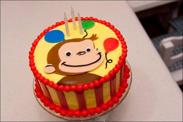 Swell 5275 Curious George Birthday Cake Walmart Curious George Funny Birthday Cards Online Necthendildamsfinfo