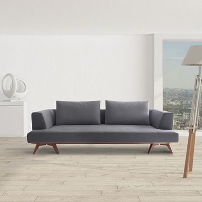 Canape Steiner Sequoia Gris Fonce Home Decor Sofa Living Room