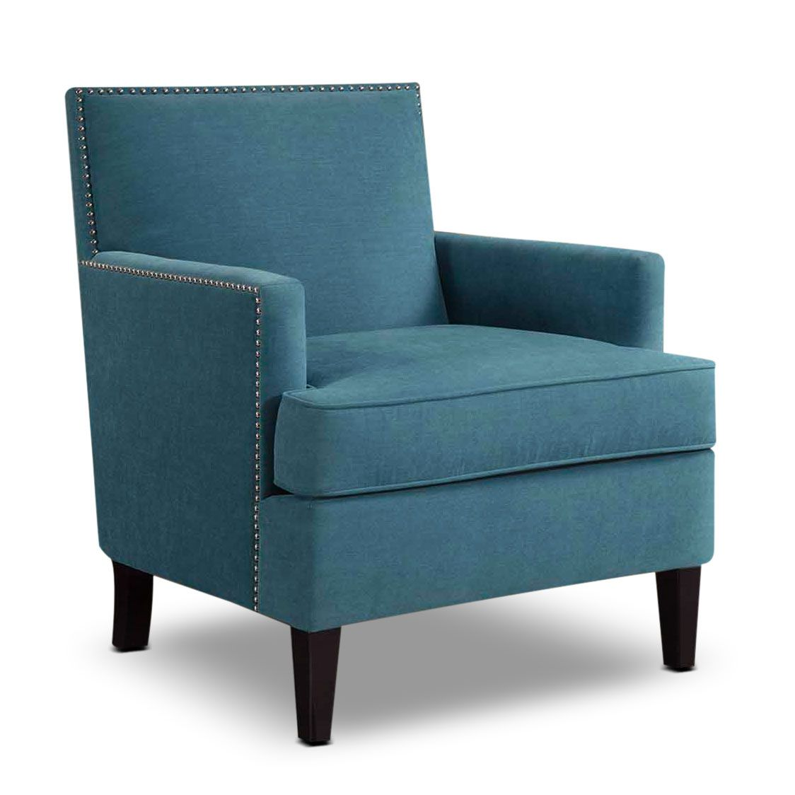 Best Astrid Accent Chair Blue Blue Accent Chairs Fabric 400 x 300