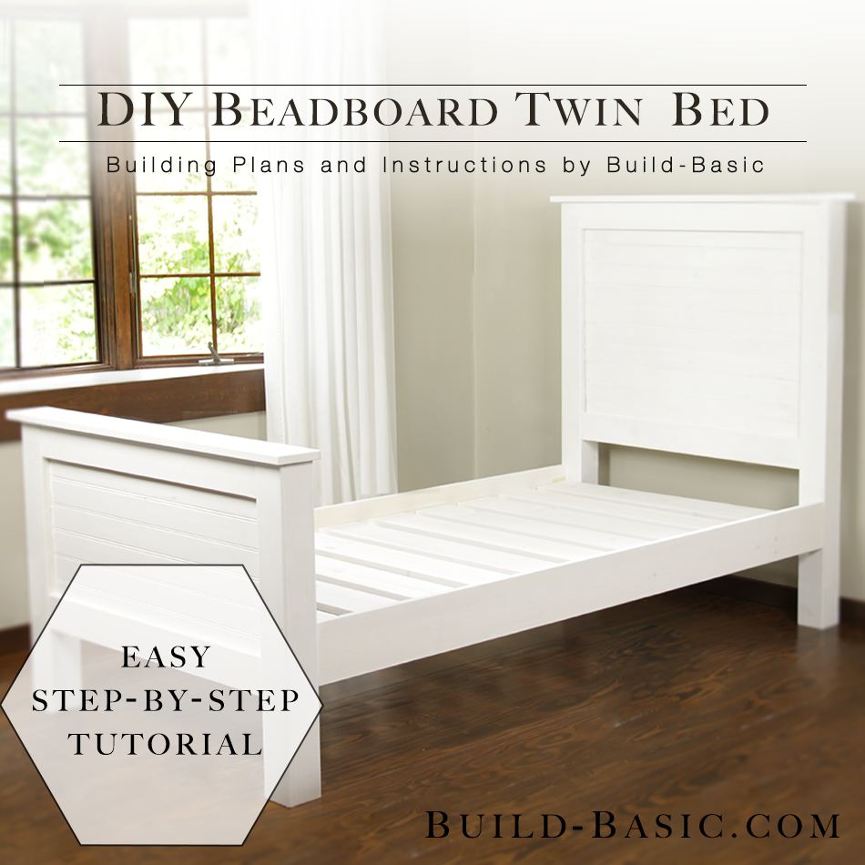 Build A Diy Twin Bed Diy Twin Bed Frame Diy Twin Bed Kids Twin Bed
