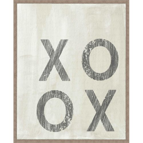 Found it at Joss & Main - Xo Xo Giclee Print