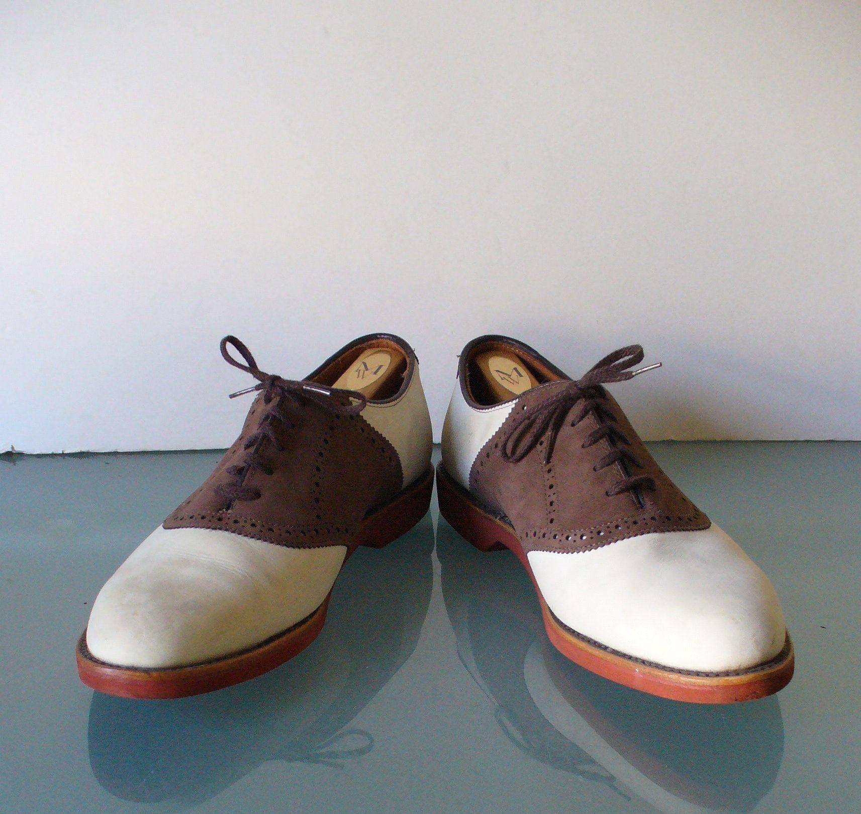 Vintage Walk-Over Saddle Oxfords Size 9