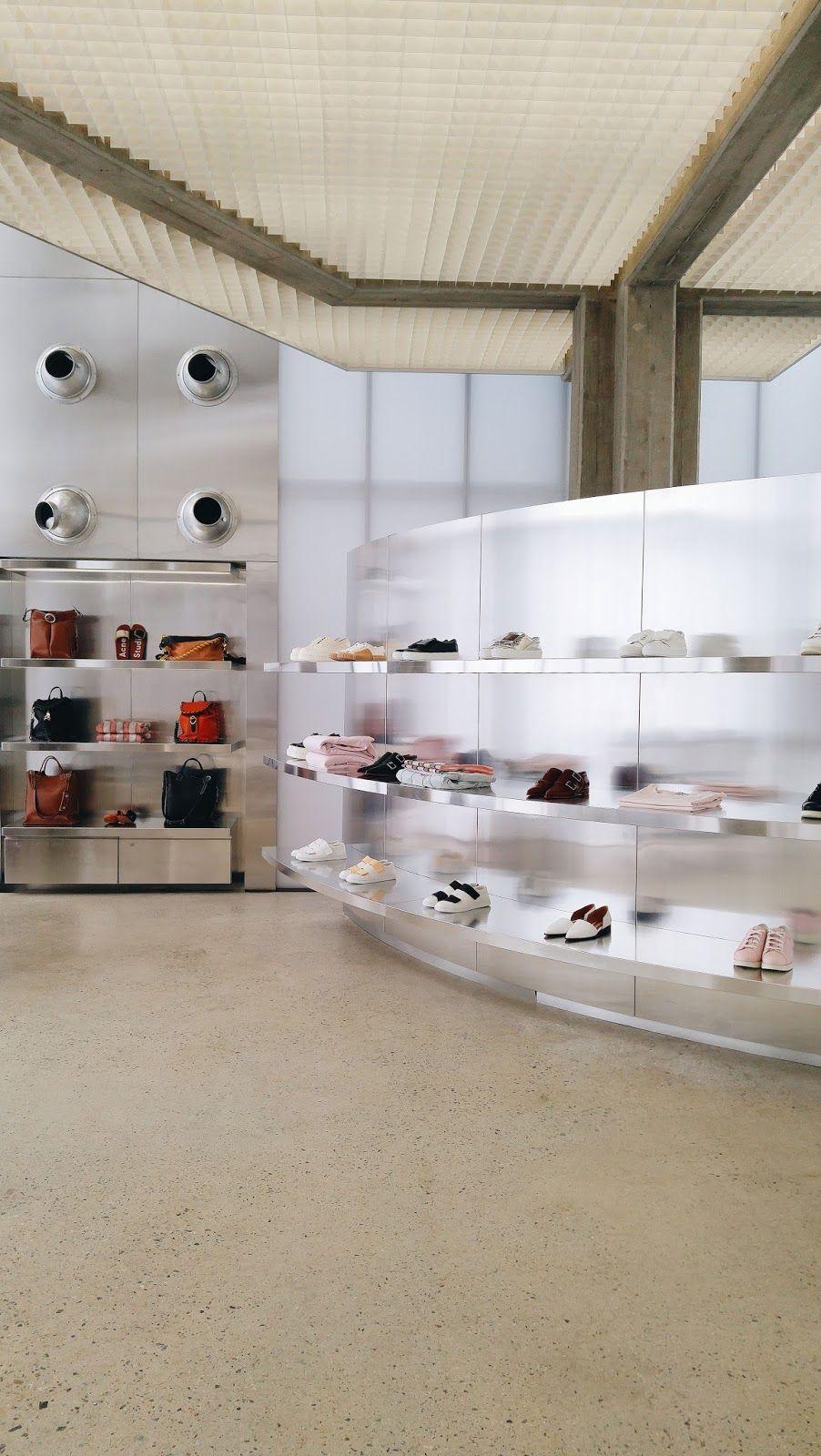 Beyunique Interior Design Acne Studios Flagship Store In Cheongdam Seoul Retail Interior Design Retail Store Interior Design Comercial Interior Design