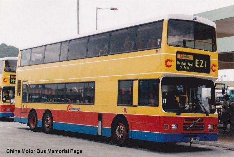 城巴 561 (HD4006) 路線:E21 - 中華巴士紀念館
