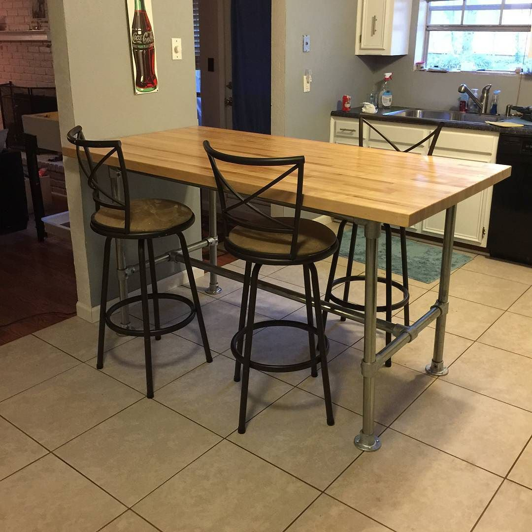 Take A Look At This Kitchen Table That Jeny Built Using Our Rugged Frame Kit