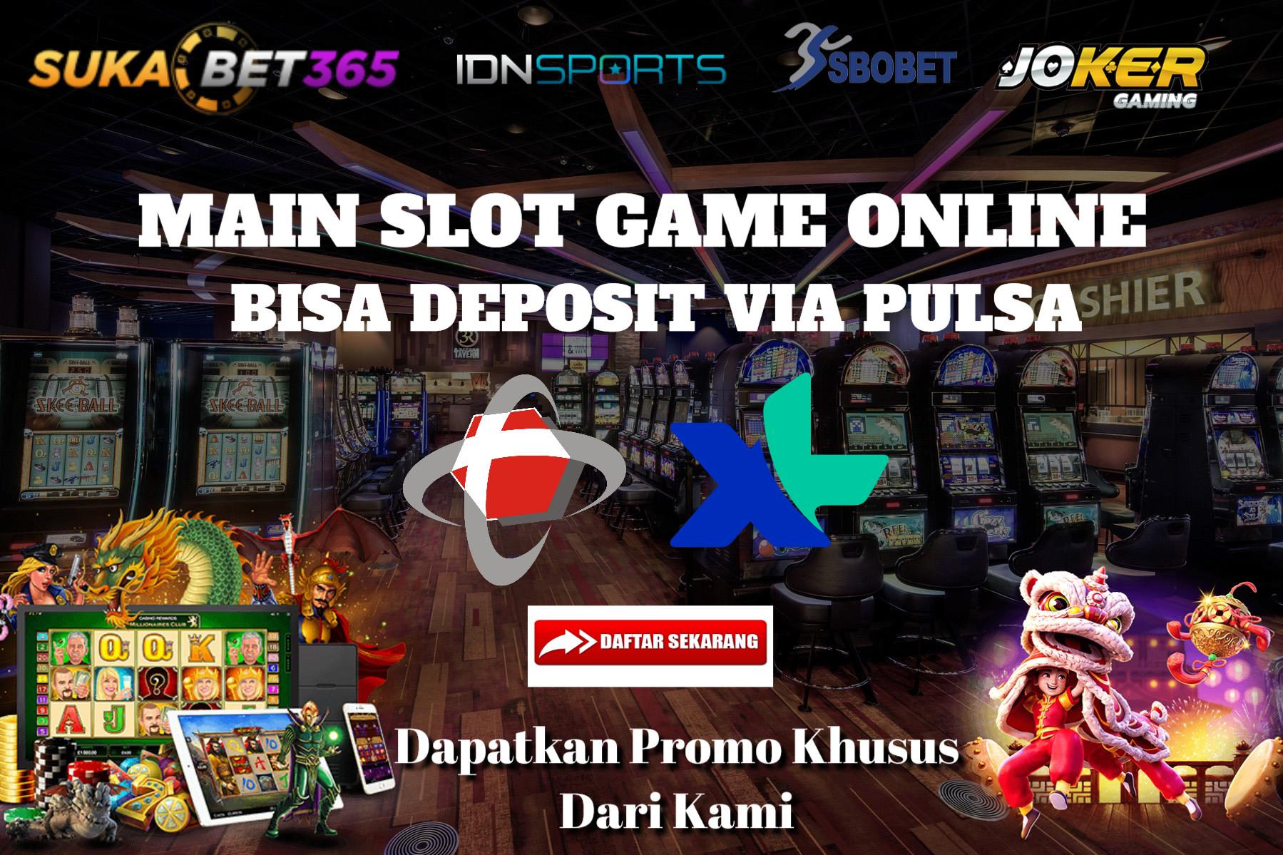 Agen Slot Online Deposit Pulsa Joker Mainan Game