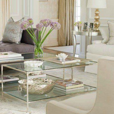 TAYLOR RECTANGULAR COFFEE TABLE NICKEL   Coffee Tables   Tables | Regency  Distribution