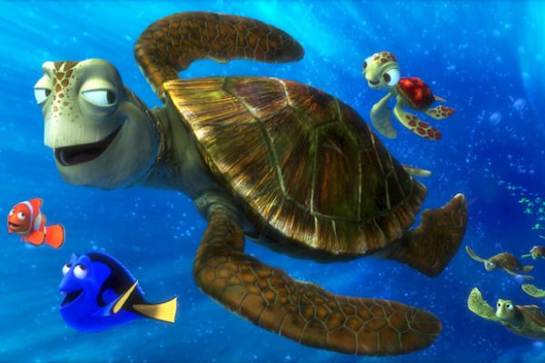 Crush And Squirt The Two Main Sea Turtles In Finding Nemo Are Named After Popular Soda Brands