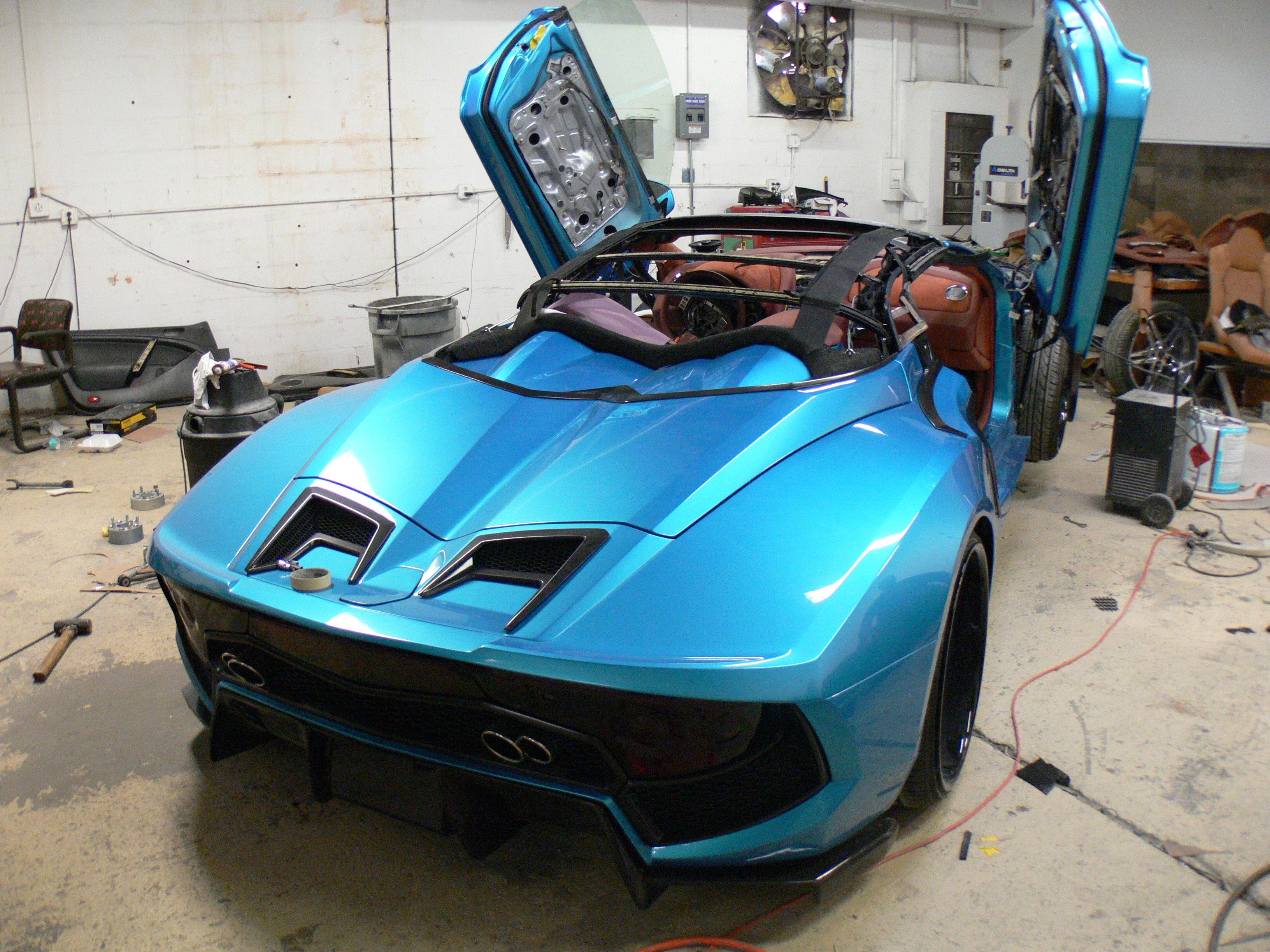 This Is A Convertible Vaydor Kit Car Kit Cars Custom Cars Dream Cars