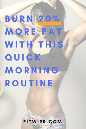 6min morning workout routine to get in shape no