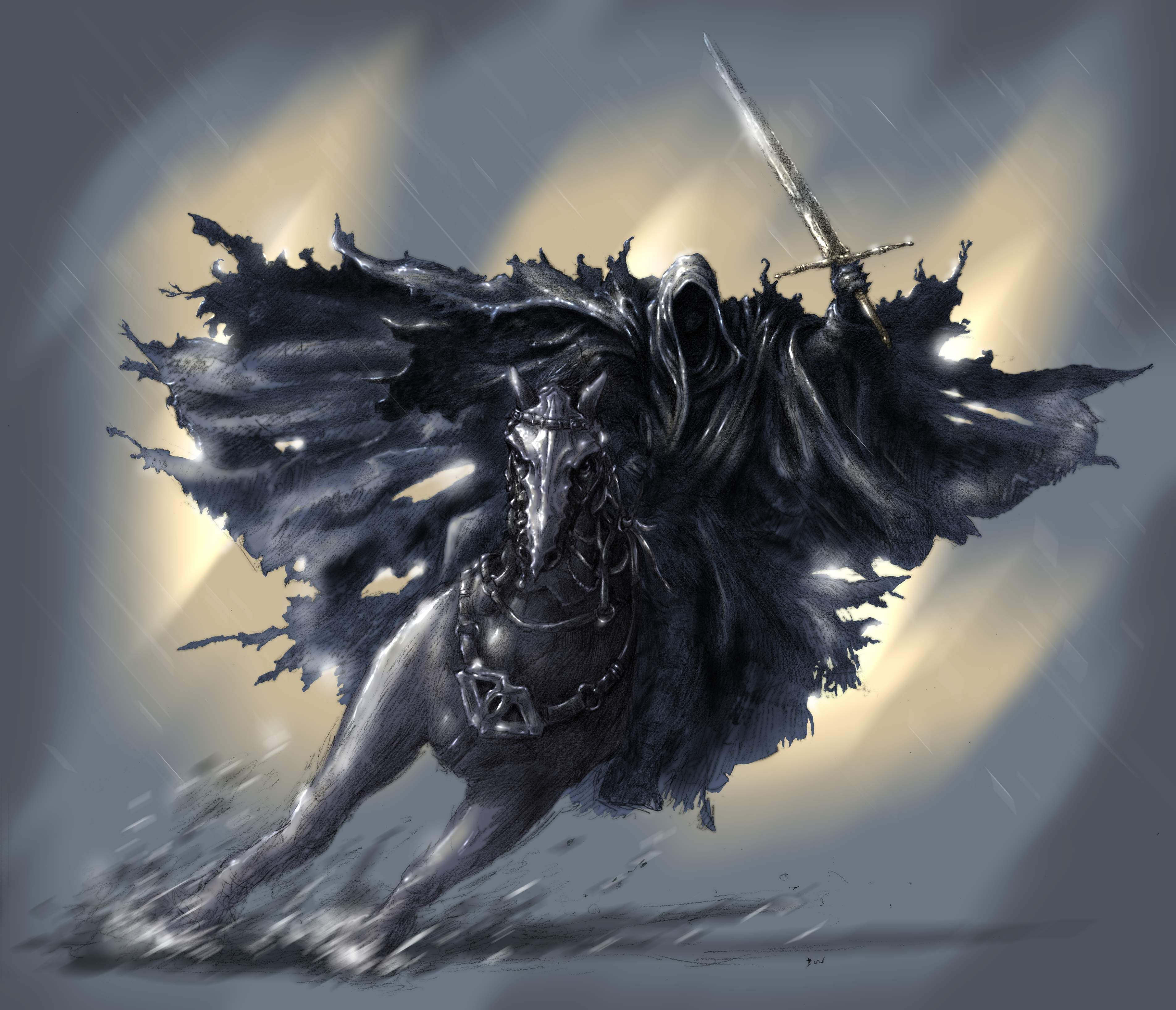 The Lord Of The Rings The Witch King Nazgul Ringwraith Wallpaper