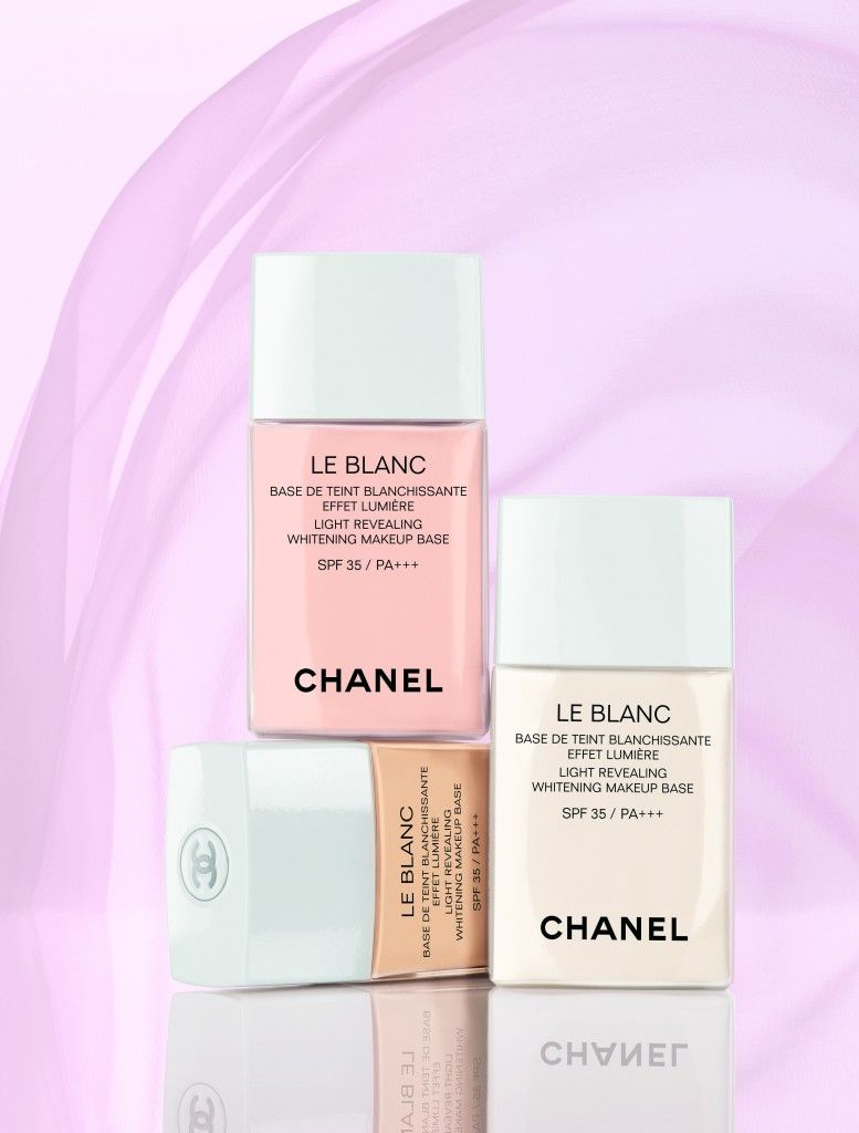 Chanel Le Blanc Makeup Base Emo De The Light