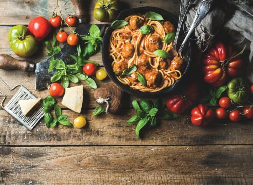 Italian pasta spaghetti with tomato sauce and meatballs by 2enroute  IFTTT 500px
