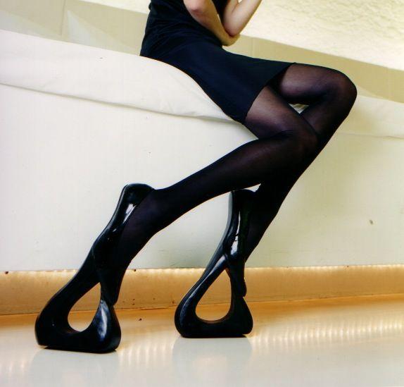 bizarre allen type super high heels