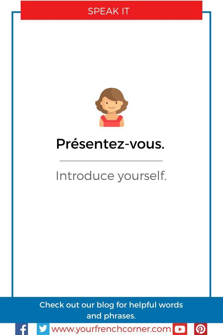 How To Introduce Yourself And Others In French A Practical Guide
