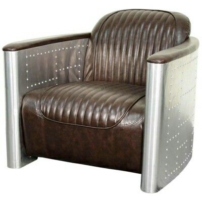 Accent chairs. ONE IN STOCK   Mocha Aviator Accent Chair  33 50 w 38 50 d 27 50 h