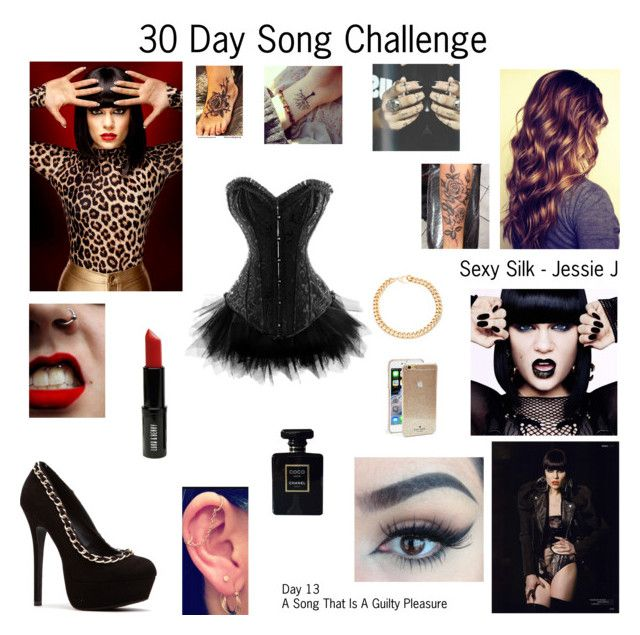 """""""Sexy Silk by Jessie J - Day 13"""" by foreverslytherin ❤ liked on Polyvore featuring Zink, Lord & Berry, Kate Spade, Chanel and Alessandra Rich"""