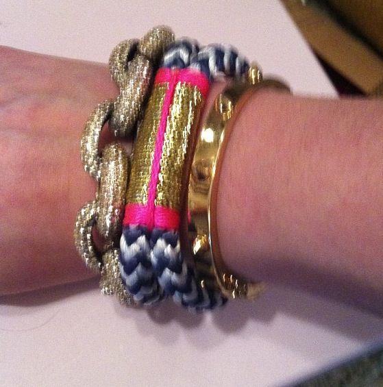 @meggieknickers #jcrew + #theropesmaine #bracelets