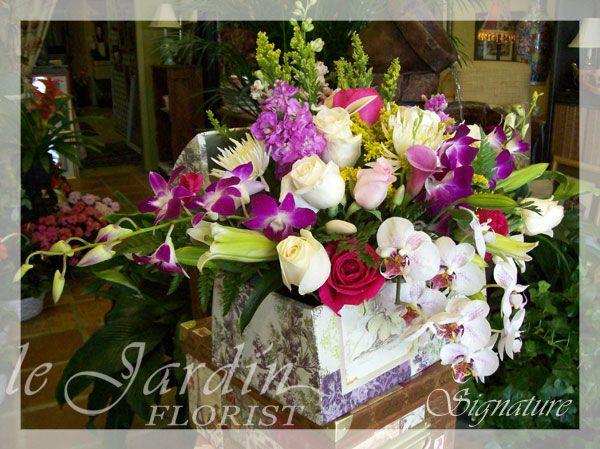 Victorian Flower Arrangements | Le Jardin Flower Shop | Florist Palm Beach  Gardens Le Jardin Flower