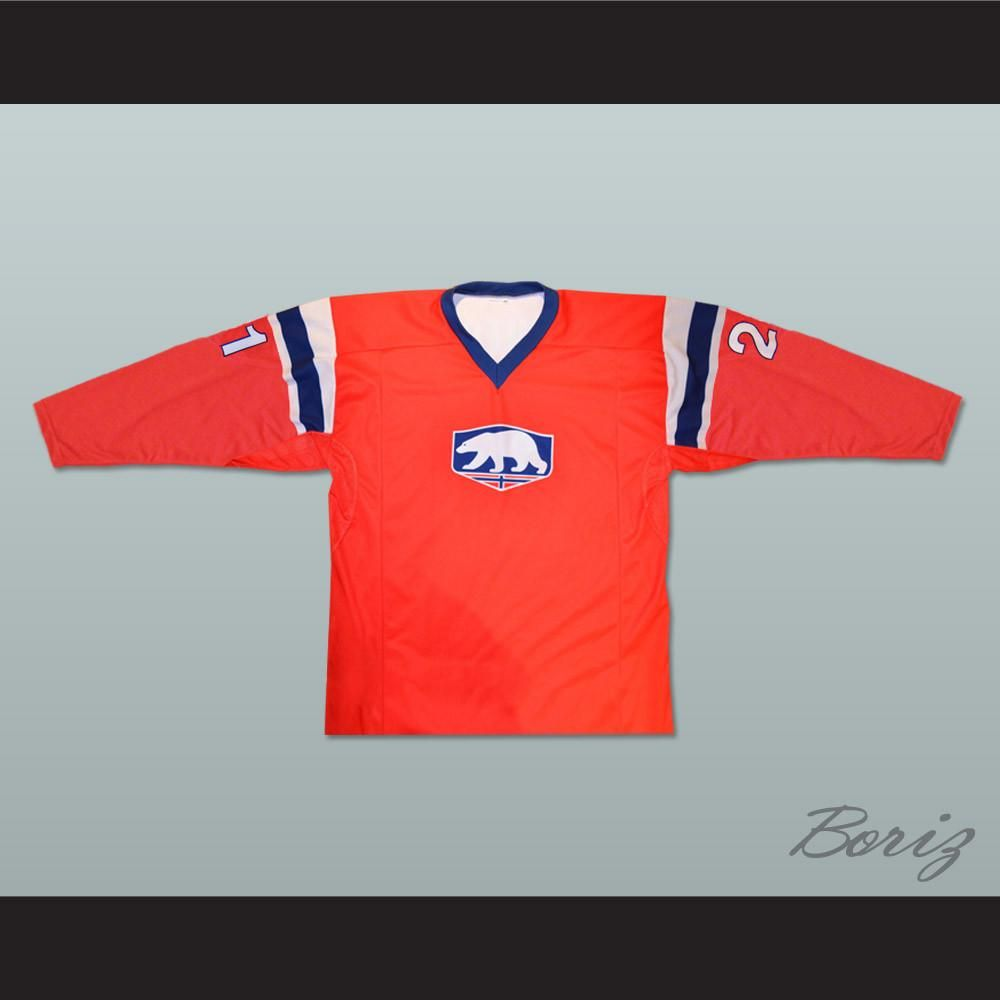 Norway Espen Knutsen Hockey Jersey Any Player Or Number New Shipping Time Is About 3 5 Weeks I Have All Sizes And Can Change Name And Number Widt Hockey Jersey