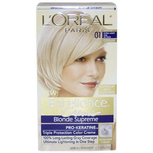 L Oreal Paris Excellence Creme Hair Color 01 Extra Light Ash