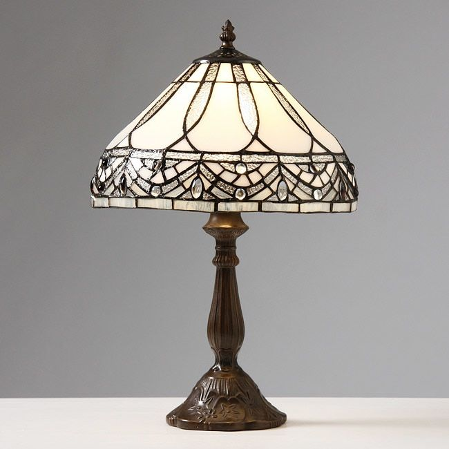 Tiffany Style Jewels Table Lamp