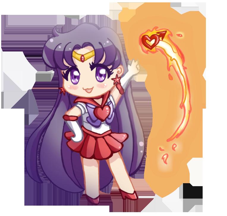 Pin By Molly Sheroke On Sailor Mars Sailor Chibi Moon Super Sailor Chibi Moon Sailor Mars