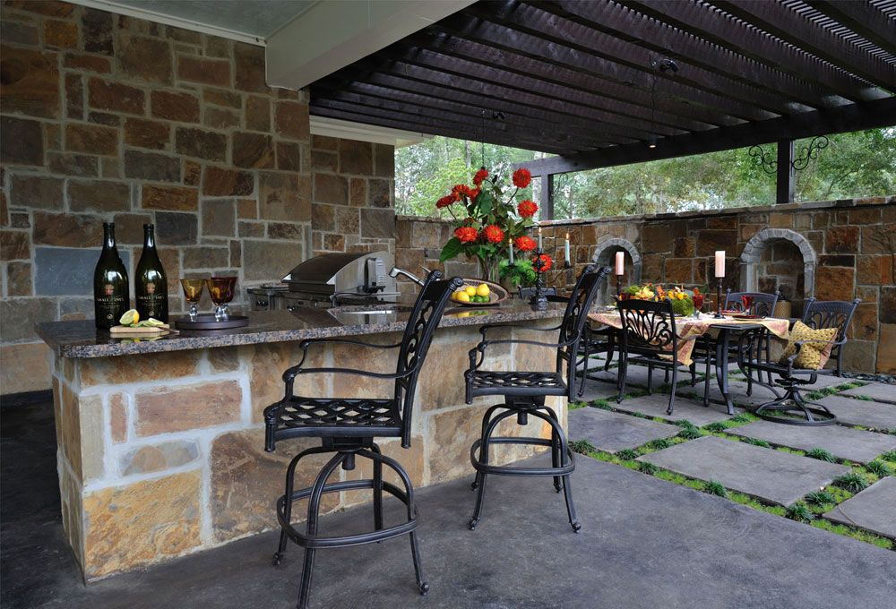 Outdoor Kitchen Ideas That Will Help You Build Your Own Ideas para