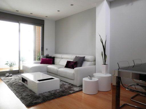 Salón comedor blanco moderno contemporáneo   Deco!   Pintura ...