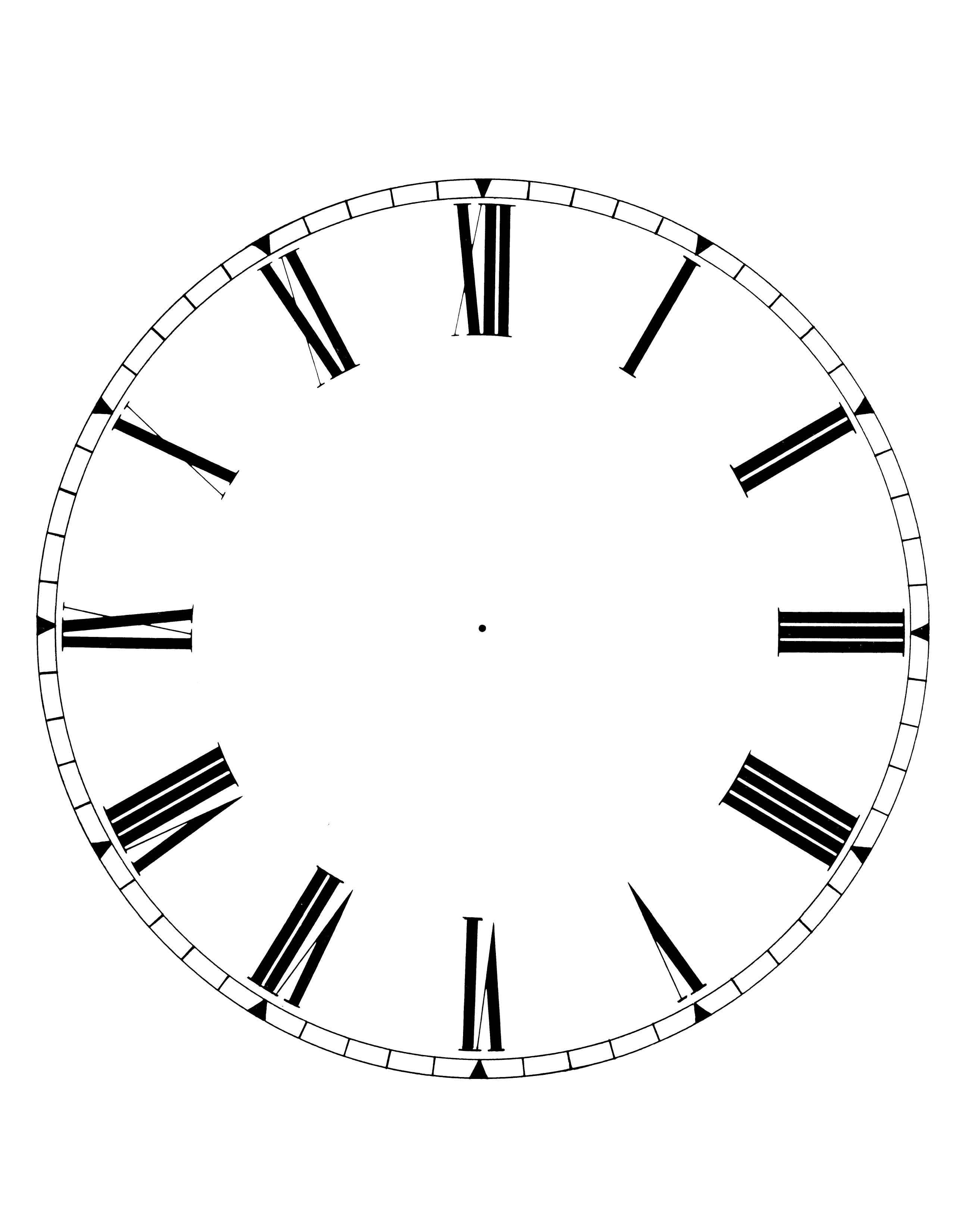 Carte per decoupage free quadranti per orologi pinterest - Orologi per casa ...
