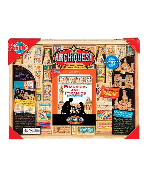 Take a look at this ArchiQuest Pharaohs & Pyramids: Egypt's Wonders Set on zulily today!