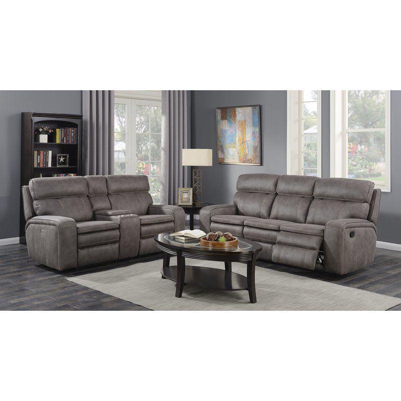 Eoin 2 Piece Reclining Living Room Set Living Room Sets Living Room Leather Leather Living Room Set