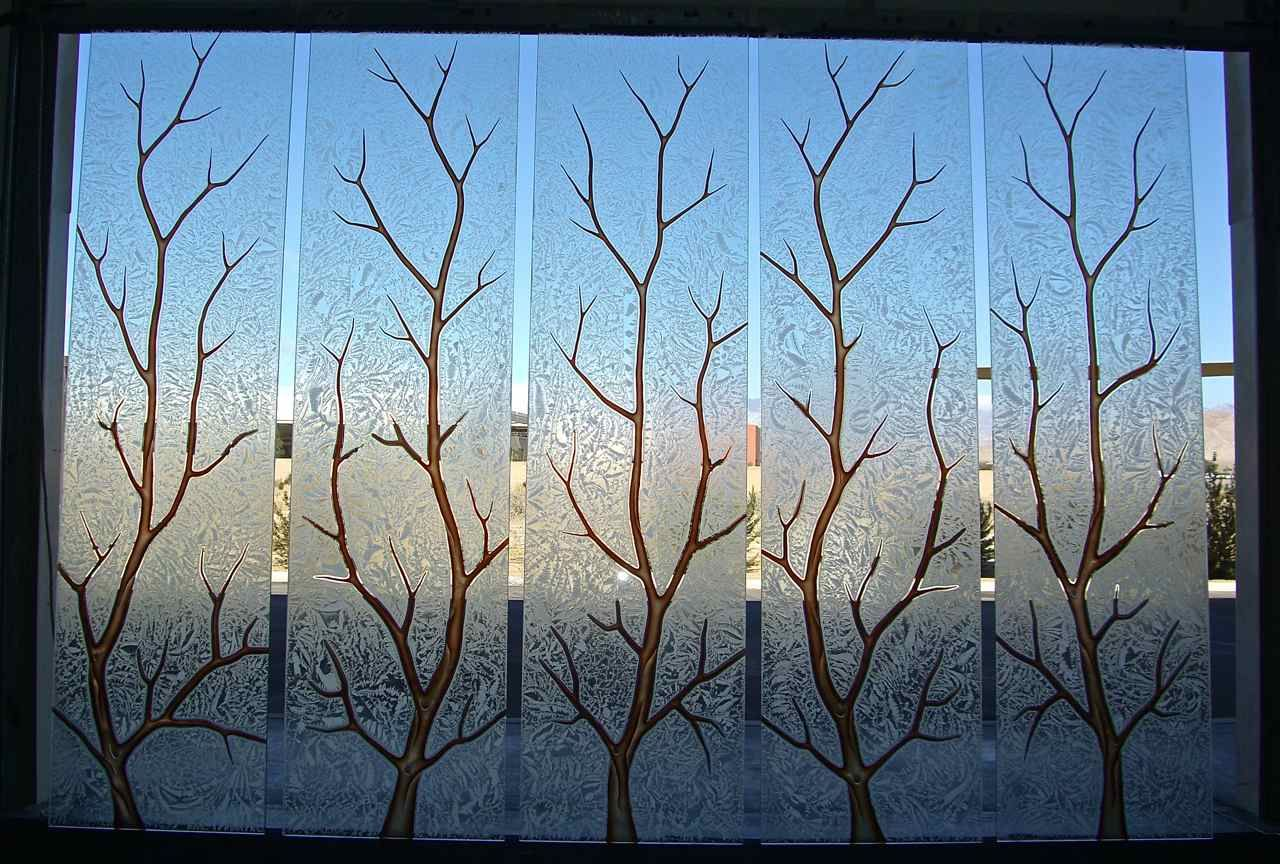 Etched Glass Windows | Get Crafty | Pinterest | Glass, Window design ...