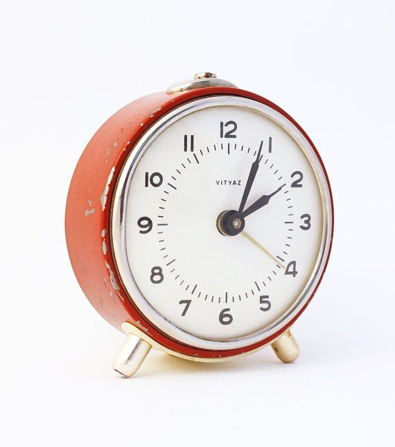 Vintage Alarm Clock Vintage Alarm Clocks Alarm Clock Unique Clocks