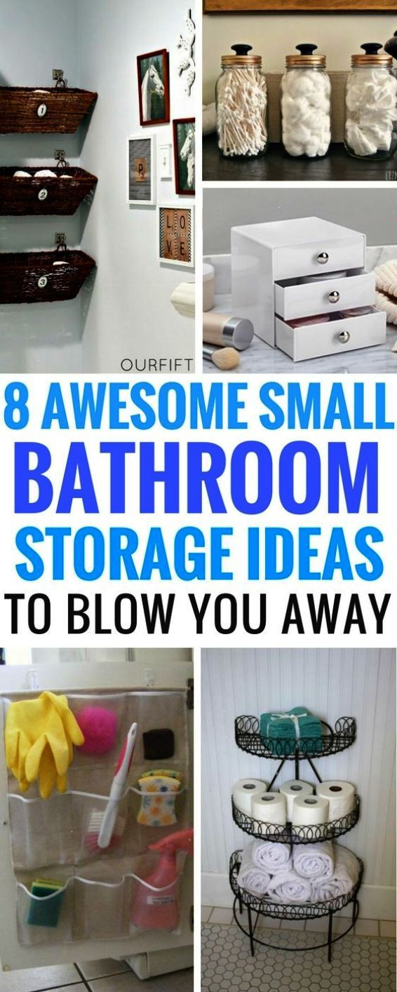 8 DIY Small Bathroom Storage Ideas Worth Your Time   The Perfect Storage  Ideas On A Budget That Will Do The Job Just Right And Make You Wonder Why U2026