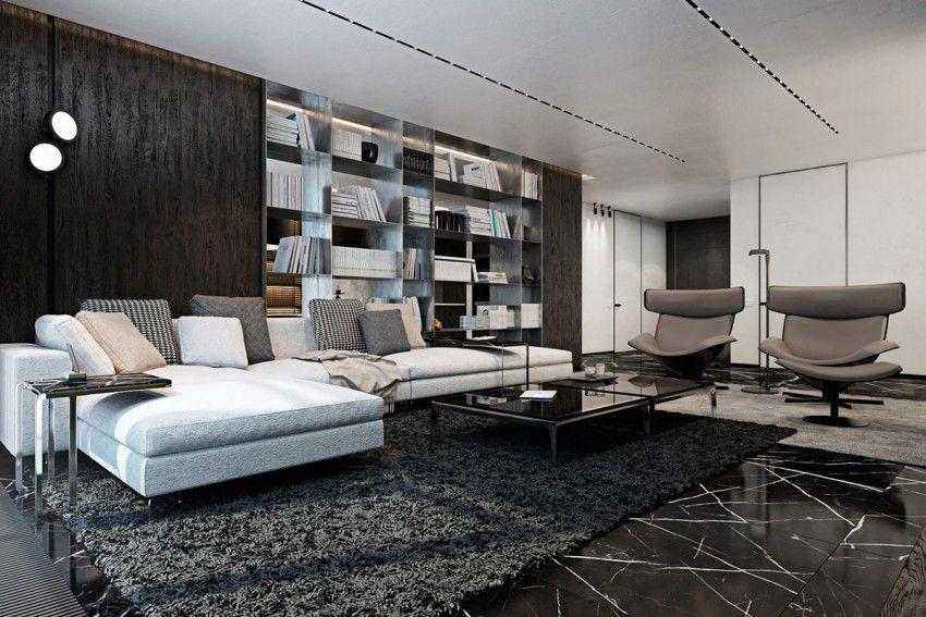 Luxurious apartment designed by iryna dzhemesiuk vitaly yurov