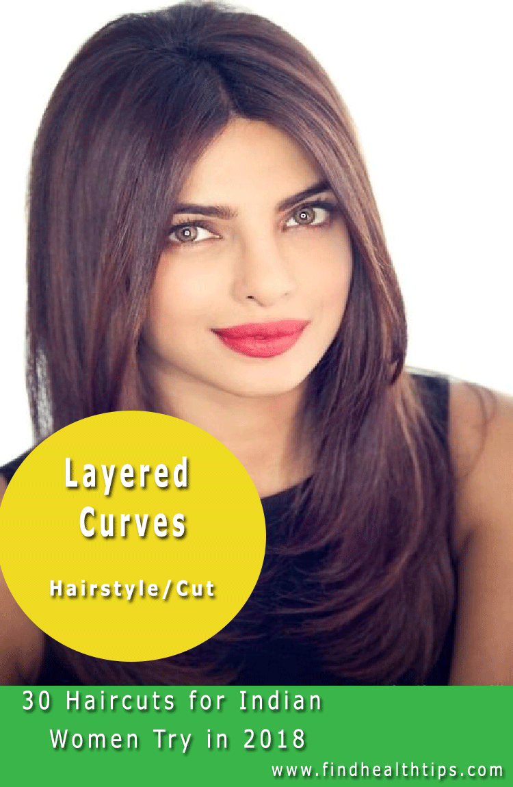 layered curves haircuts for indian women 2018 | ☆ hair care 'n