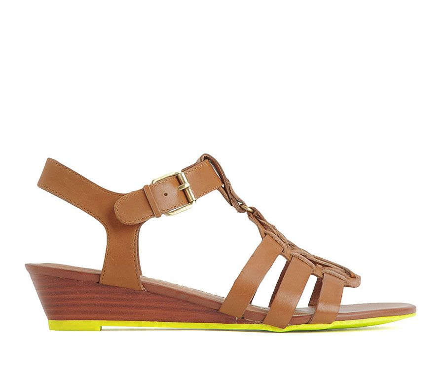 A Touch Of Neon To Easy, Summer Sandals