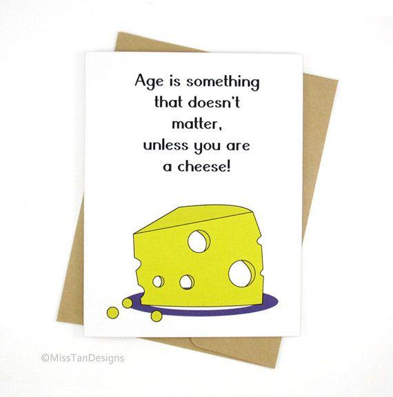 Birthday card yellow cheese funny card boyfriend card happy birthday card yellow cheese funny card boyfriend card happy birthday gift mom card dad card love gift cheesy card bookmarktalkfo Gallery