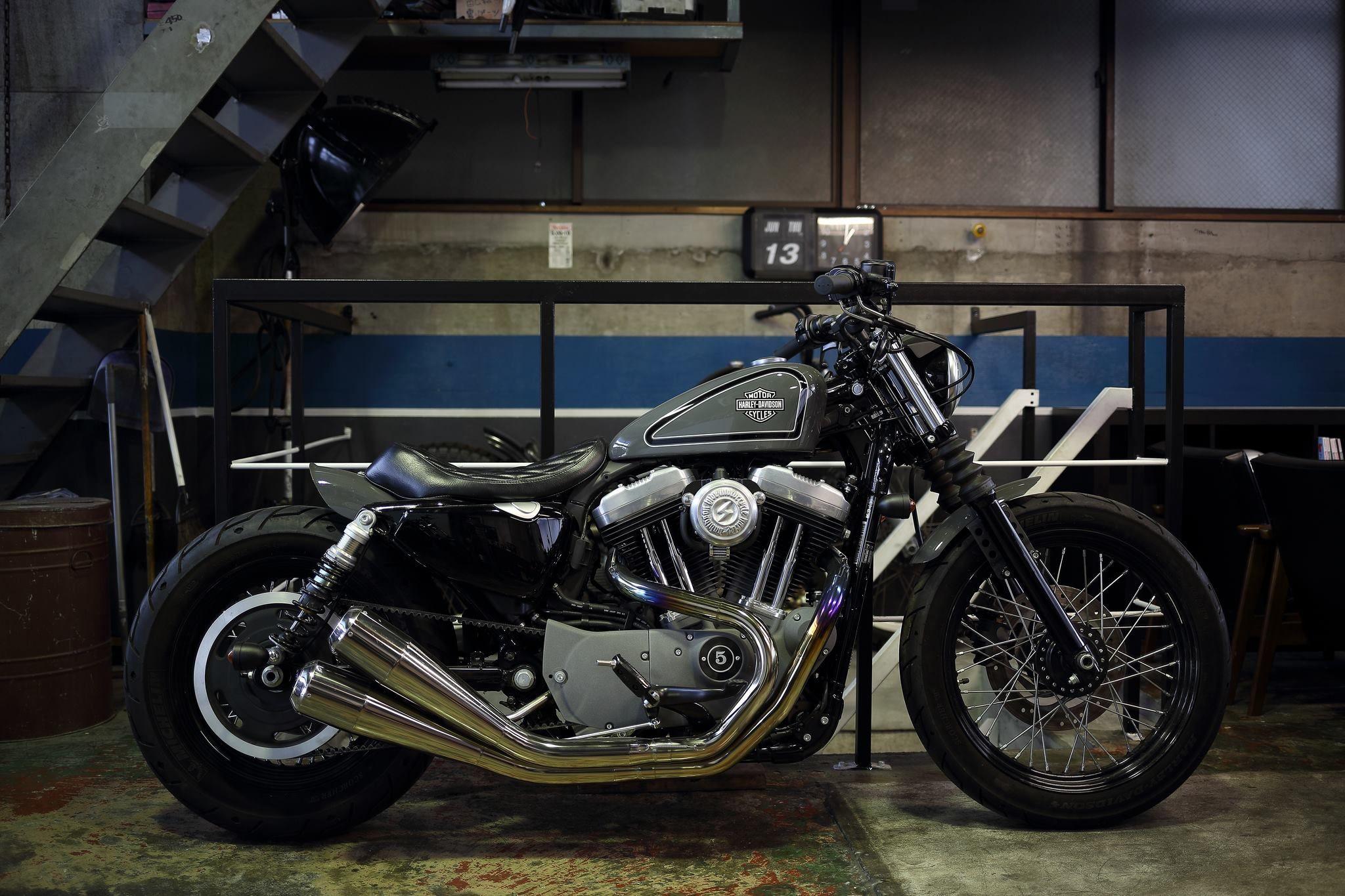 Sportster Hide Motorcycle