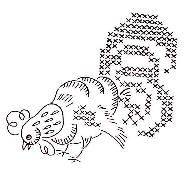 Vogart 699-2 | Chickens | Pinterest | Bordado, Moldes and Dibujos