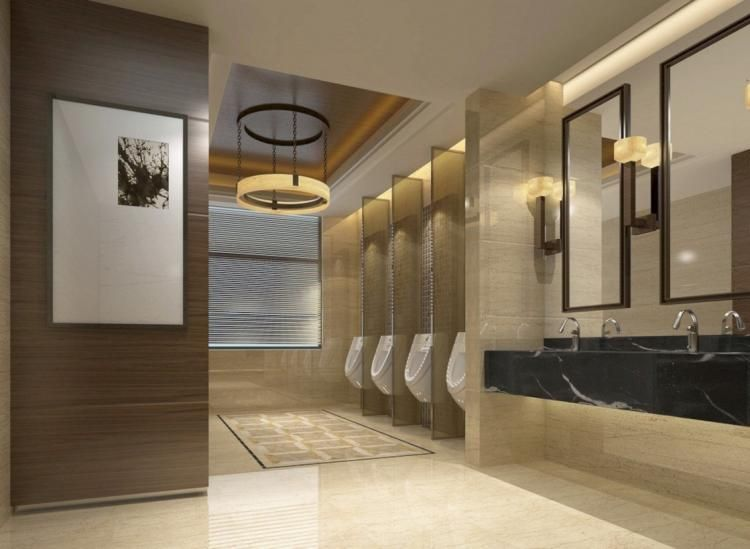 Genial 65+ AWESOME PUBLIC BATHROOM DESIGN IDEAS