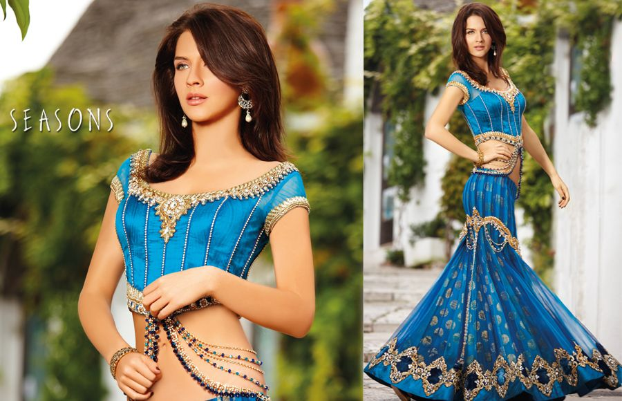 35581d47e8 This Is You Feature Life Style: Fancy Sarees l Seasons Lehenga Latest Fish  Tail Style Sarees Collection 2013