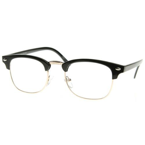 Half rim glasses online - Glasses without frame on bottom