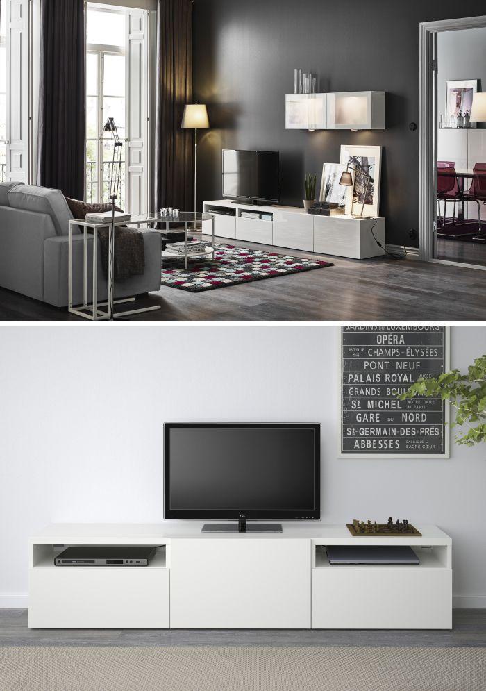 BESTÅ system Combinations & Frames IKEA | Living room
